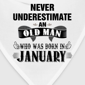 Never Underestimate An Old Man Who Was Born In Ja T-Shirts - Bandana