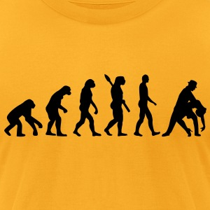 Evolution dancing Bags  - Men's T-Shirt by American Apparel