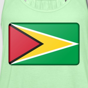 Guyana Flag Hoodies - Women's Flowy Tank Top by Bella