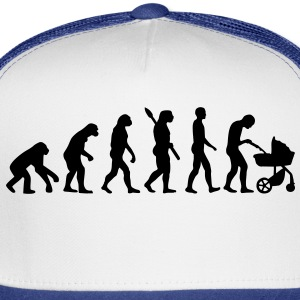 Evolution Baby parents Buttons - Trucker Cap
