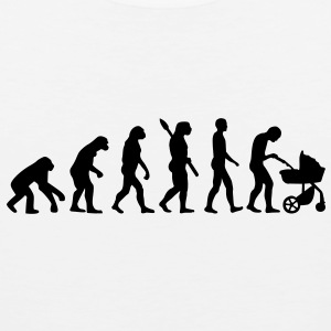 Evolution Baby parents Buttons - Men's Premium Tank