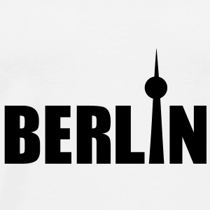 Berlin Buttons - Men's Premium T-Shirt