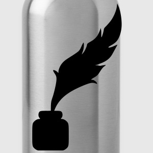Feather ink T-Shirts - Water Bottle