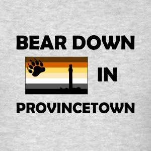 Bear Down in Provicetown - Men's T-Shirt