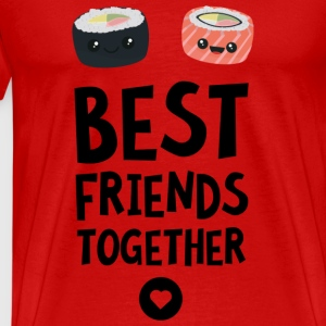 Sushi Best friends Heart Svbua Caps - Men's Premium T-Shirt