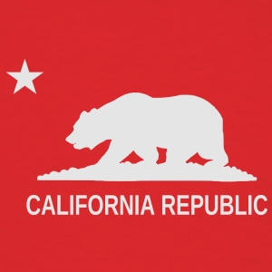California Republic Hoodie - Men's T-Shirt