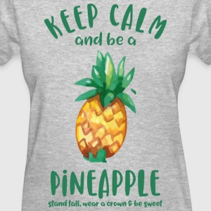 Keep Calm Pineapple T-Shirts - Women's T-Shirt