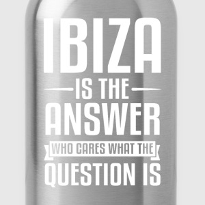 Ibiza Is The Answer T-Shirts - Water Bottle