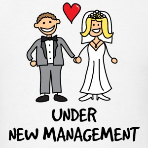 Wedding - Under New Management Hoodies - Men's T-Shirt
