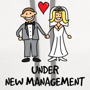 Wedding - Under New Management T-Shirts - Contrast Hoodie