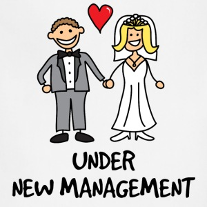 Wedding - Under New Management T-Shirts - Adjustable Apron