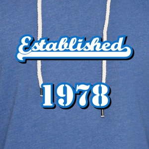 Established 1978 T-Shirts - Unisex Lightweight Terry Hoodie
