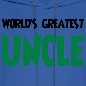 World's greatest uncle - Men's Hoodie