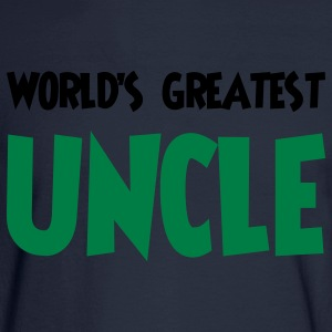 World's greatest uncle - Men's Long Sleeve T-Shirt