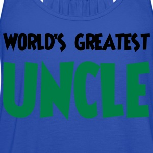 World's greatest uncle - Women's Flowy Tank Top by Bella