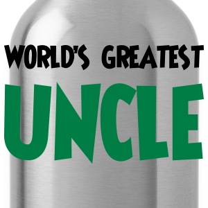 World's greatest uncle - Water Bottle