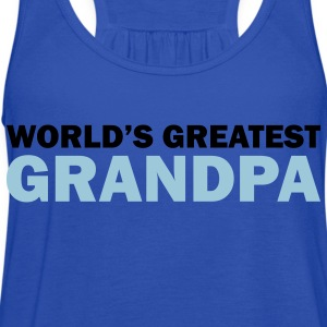 World's greatest grandpa - Women's Flowy Tank Top by Bella
