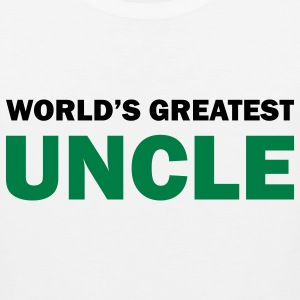 World's greatest uncle - Men's Premium Tank