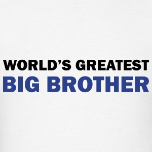World's greatest big brother - Men's T-Shirt