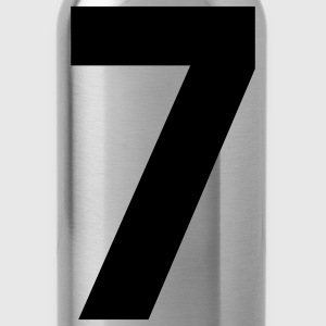 Team letter seven 7 - Water Bottle