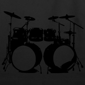 Drumms, Drummer, Snare, Hi Hat, Drumset T-Shirts - Eco-Friendly Cotton Tote
