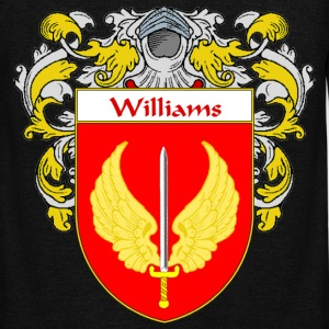 Williams Coat of Arms/Family Crest - Unisex Fleece Zip Hoodie by American Apparel