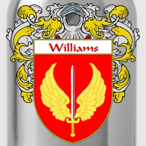 Williams Coat of Arms/Family Crest - Water Bottle