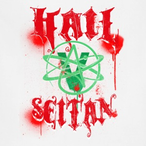Hail Seitan T-Shirt perfect for vegans and vegetar Tanks - Adjustable Apron