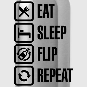 Eat - Sleep - Bottle Flip - Repeat T-shirts Enfant - Gourde