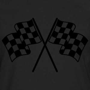 Checkered Flags Women's T-Shirts - Men's Premium Long Sleeve T-Shirt