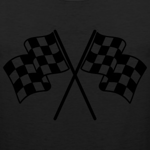 Checkered Flags Women's T-Shirts - Men's Premium Tank