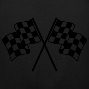 Checkered Flags Bags  - Men's Premium Tank