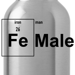 Female (Iron Man) Women's T-Shirts - Water Bottle