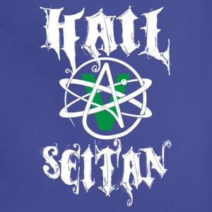 Hail Seitan Atheist Shirt T-Shirts - Adjustable Apron