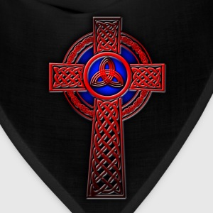 Trinity Celtic Cross (Red) - Bandana