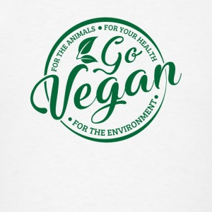 Go Vegan for animals & health & environment Sportswear - Men's T-Shirt