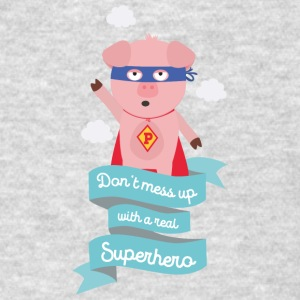 Dont mess up with a superhero Sz2tc Sportswear - Men's T-Shirt
