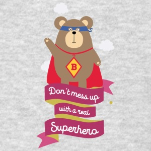 Dont mess up with a superhero Smc21 Sportswear - Men's T-Shirt