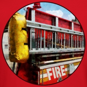 Long Ladder on Fire Truck Long Sleeve Shirts - Crewneck Sweatshirt