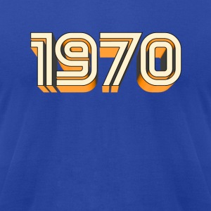 1970 Hoodies - Men's T-Shirt by American Apparel