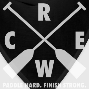Dragon Boat Crew - Paddle Hard, Finish Strong T-Shirts - Bandana