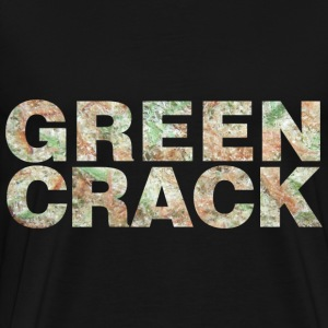 GREEN CRACK.png Hoodies - Men's Premium T-Shirt