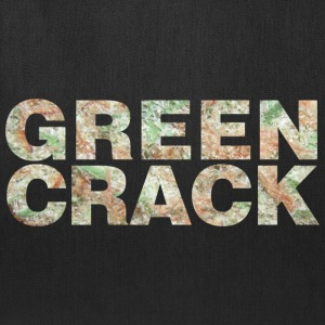 GREEN CRACK.png T-Shirts - Tote Bag
