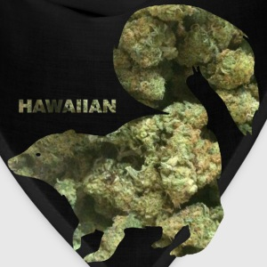 HAWAIIAN SKUNK.png Hoodies - Bandana