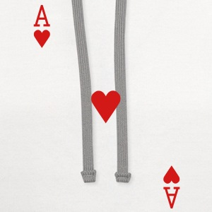 Ace of Hearts T-Shirts - Contrast Hoodie