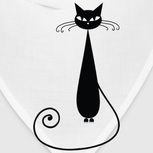Black Cat T-Shirts - Bandana