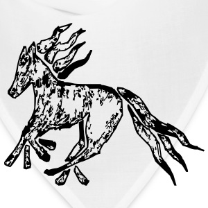 Tribal Horse Picture Bags  - Bandana