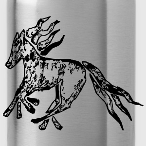 Tribal Horse Picture Bags  - Water Bottle