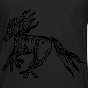 Tribal Horse Picture Bags  - Men's Premium Long Sleeve T-Shirt