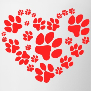 Paws Heart - Coffee/Tea Mug